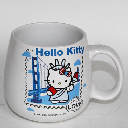 Hello kitty promotional ceramic mug