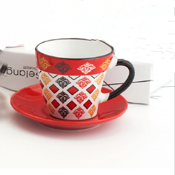 80cc coffee cup&saucer