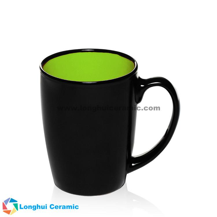 Java Two Tone Customized Ceramic Coffee Mug Supplied By China