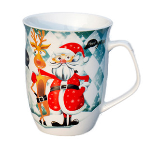 12oz Santa Claus ceramic cup