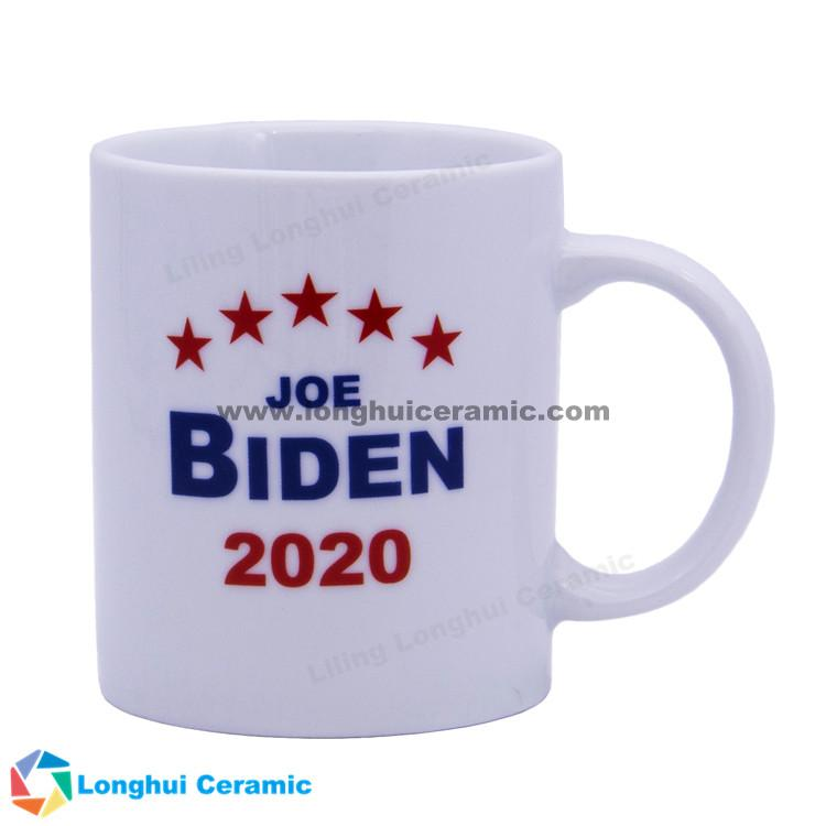 2020 USA president election Donald Trump Biden Sanders Michael Bloomberg ceramic coffee mug cup